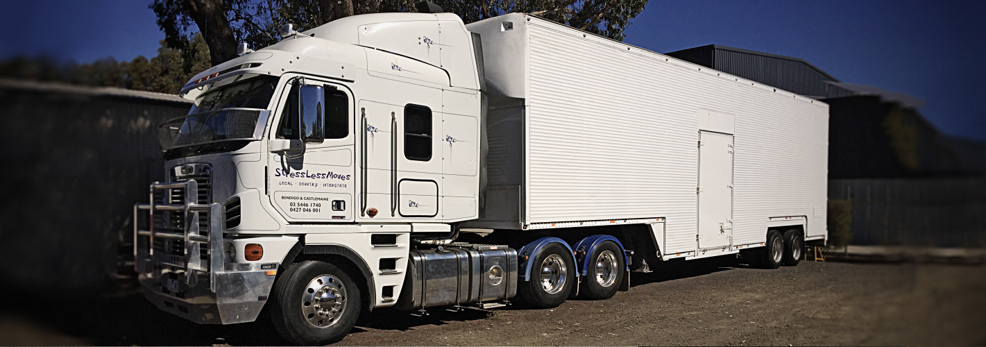 Stress Less Moves Bendigo Large Truck